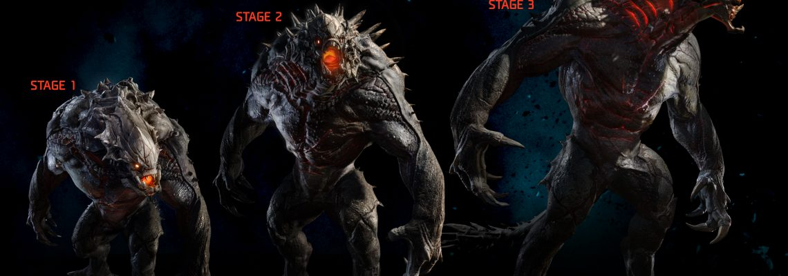 Ya disponible Big Aplha de Evolve en PS4