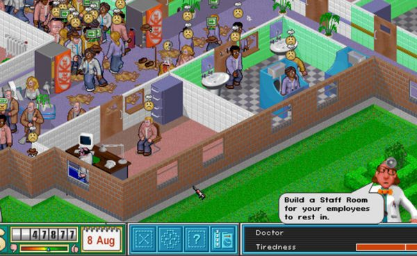 Descarga Theme Hospital gratis en Origin