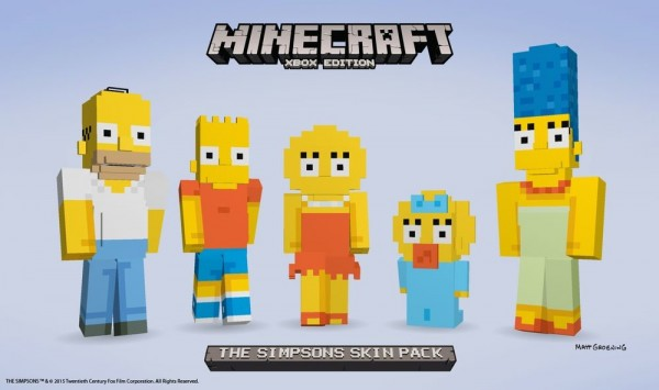 Los Simpsons DLC Minecraft