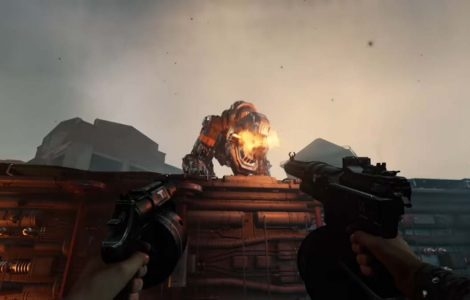 Nuevo trailer de Wolfenstein 2: The New Colossus con nazis montando Panzerhund