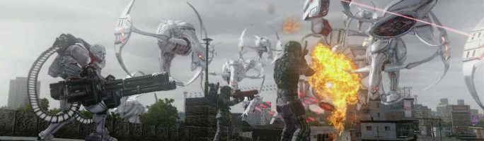 Nuevo trailer de Earth Defense Force 5