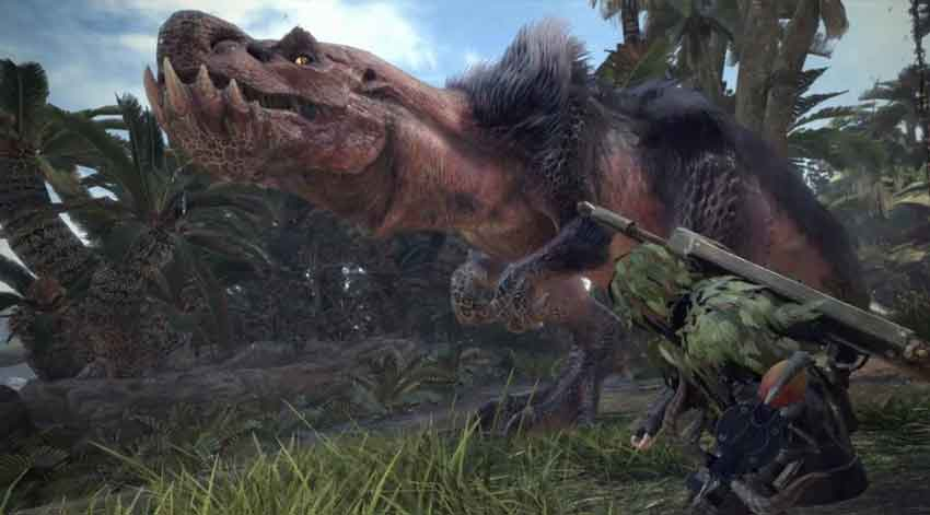 conseguir todas las vesículas en Monster Hunter World