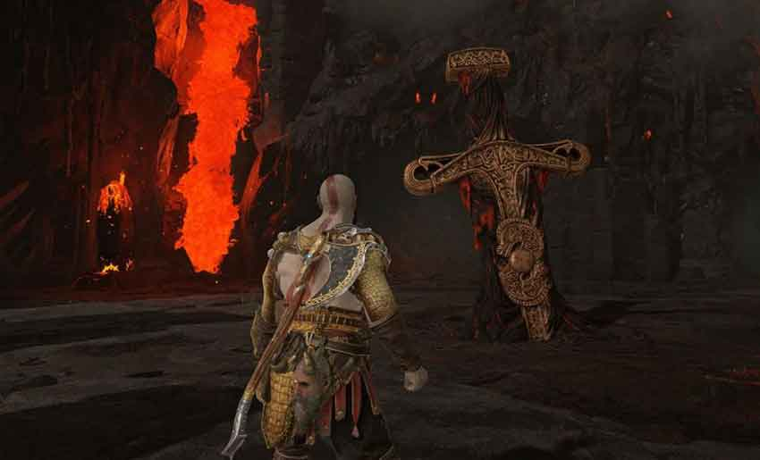 conseguir brasas latentes en God of War 2018