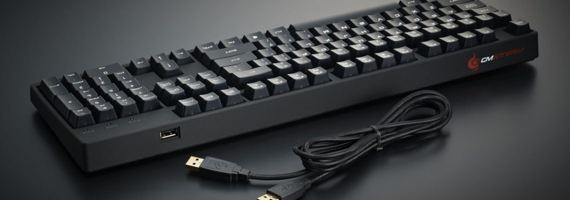 Análisis del teclado Storm QuickFire XT