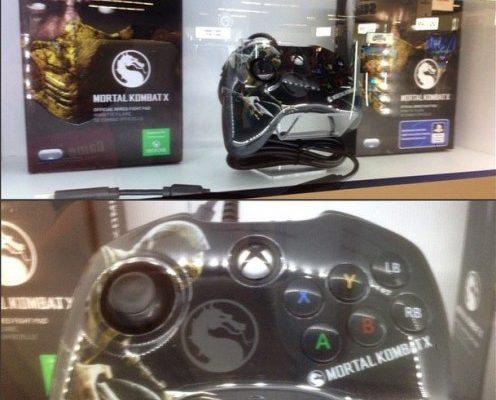 Nuevo mando inspirado en Mortal Kombat X para Xbox One
