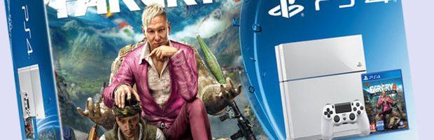Sony lanzará dos versiones de PS4 junto con el juego Far Cray 4