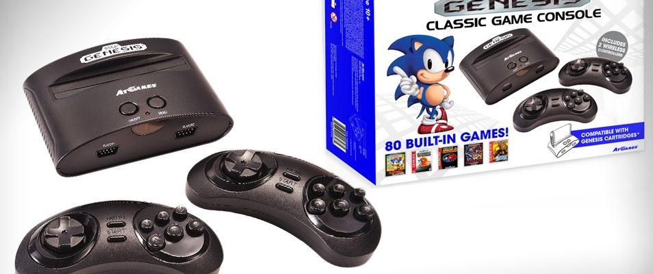 Groupon pone a la venta una SEGA Genesis con 80 juegos clásicos