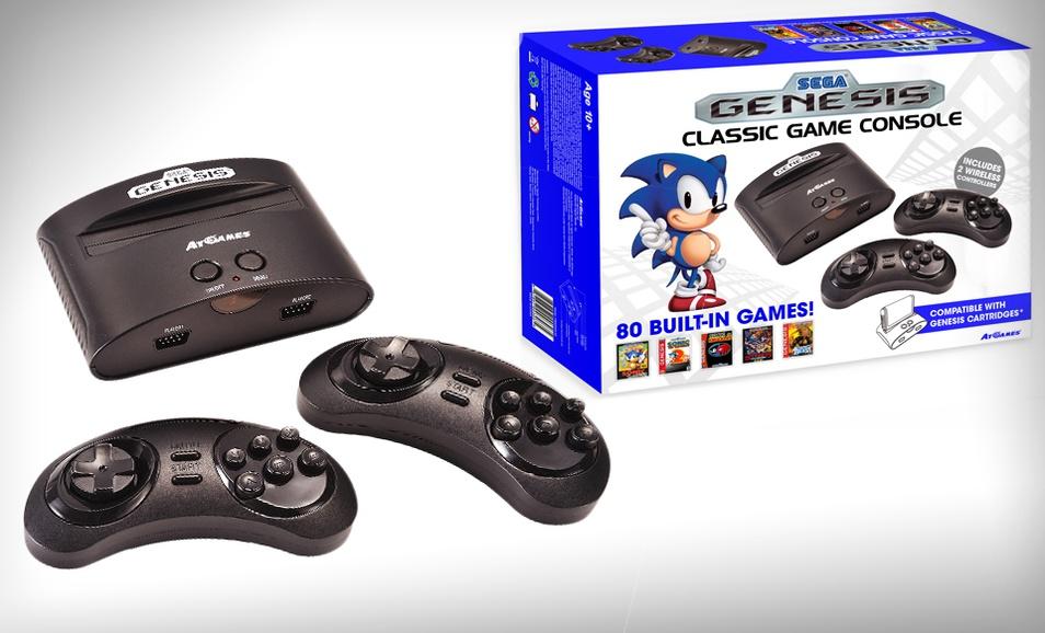 Groupon pone a la venta una sega genesis con 80 juegos - Sega genesis classic game console games ...