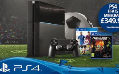 PS4: nuevo paquete con FIFA 15 y Minecraft