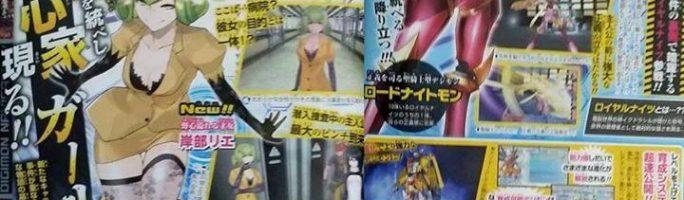 Bandai Namco revela nueva información sobre Digimon Story: Cyber Sleuth
