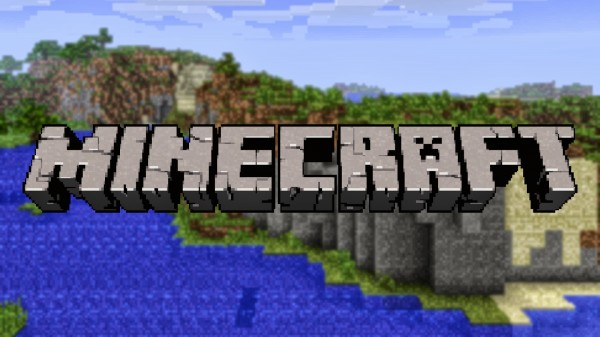 Minecraft-Logo-Wallpaper