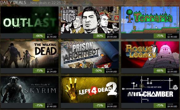 Steam nos ofrece 10 juegos gratis para este fin de semana