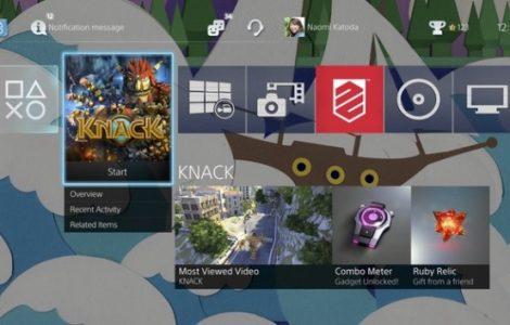 Sony anuncia la actualización 2.0 del Firmware de PlayStation 4