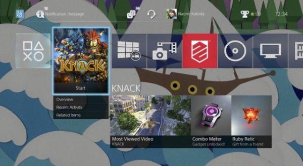 Actualización Firmware 2.0 para PS4