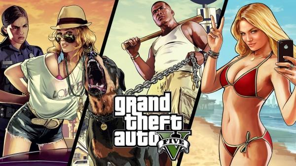 GTA V 1080p en PS4