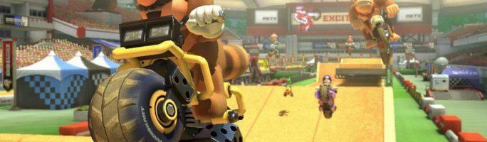Llega el trial de Excitebike en Mario Kart 8
