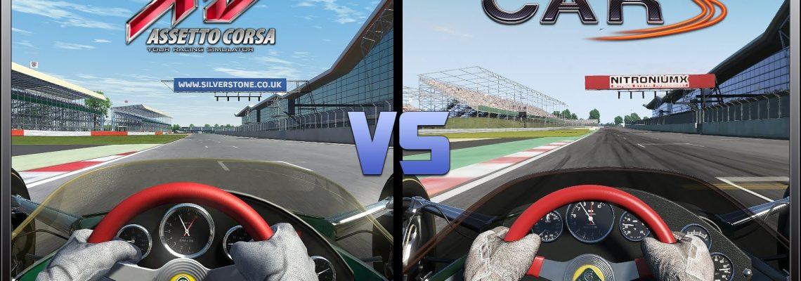 Project CARS vs. Assetto Corsa: comparativa en vídeo