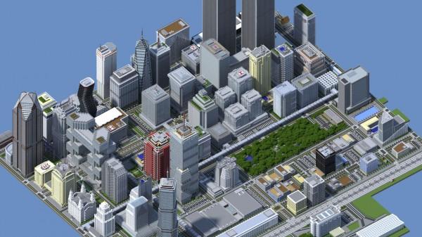 Ciudad Titan City Minecraft