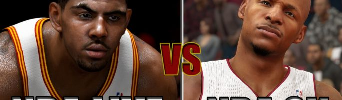NBA 2K15 vs. NBA Live 15: comparativa gráfica en vídeo