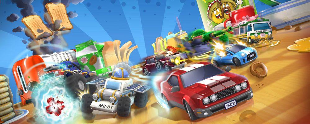 """Toybox Turbos el nuevo """"Micro machines"""" de Codemaster"""