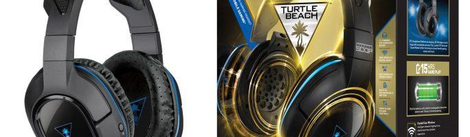 Turtle Beach Ear Force Stealth los nuevos auriculares inalámbricos para PS3 y PS4