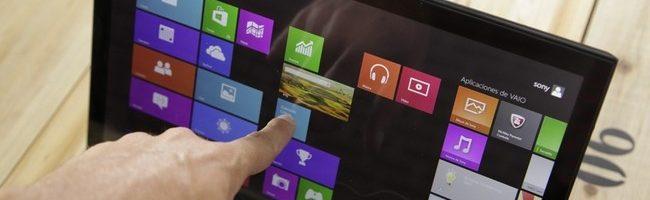 Desaparecen las pantallas táctiles en los portátiles