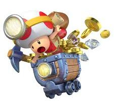 El personaje original de Captain Toad: Treasure Tracker era Link