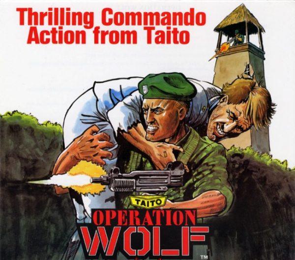 Operation Wolf portada