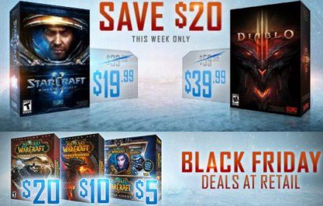Blizzard se suma al Black Friday con sus mejores títulos