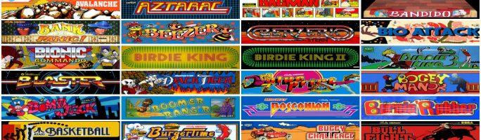 Juegos clásicos de MAME para jugar desde el navegador