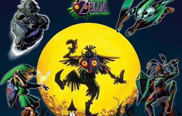 The Legend of Zelda: Majora´s Mask finalmente saldrá para 3DS