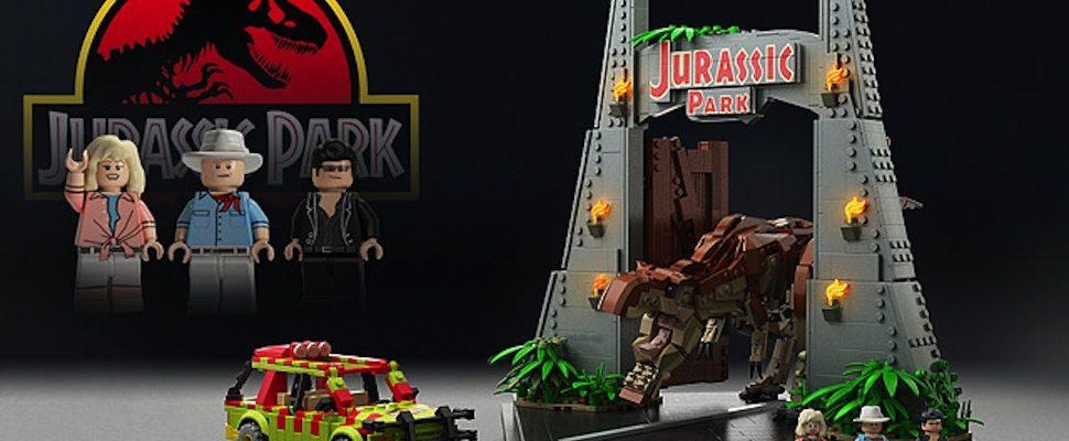 El nuevo juego de LEGO estaría basado en Jurasic Park