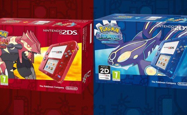 Se anuncia nuevas Nintendo 2DS transparentes