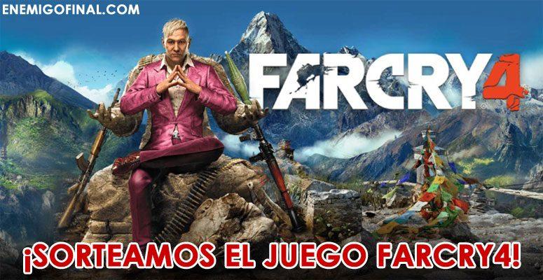 Sorteamos el juego Far Cry 4 ¿te lo vas a perder?