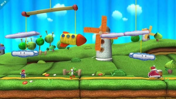 Super Smash Bros. - Yoshi's Wolly World