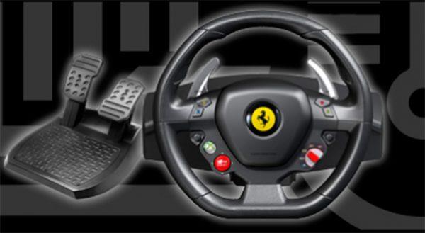 Volante para Xbox 360 - Thrustmaster Ferrari 458 Italia