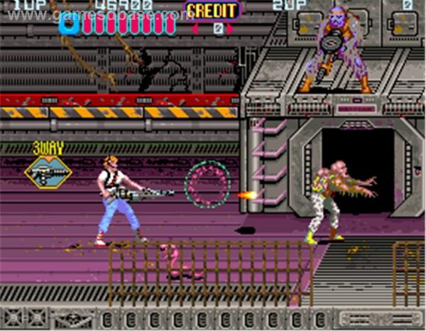 Aliens 1990 Konami