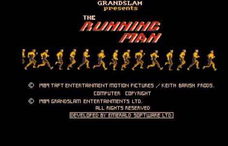 The Running Man, el juego