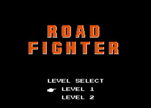 Road Fighter: velocidad y obstáculos
