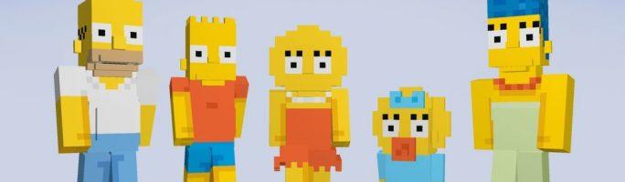 Los Simpsons llegan a Minecraft en Xbox 360 y Xbox One