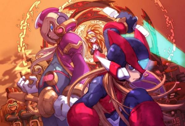 Mega Man Zero Wii U eShop