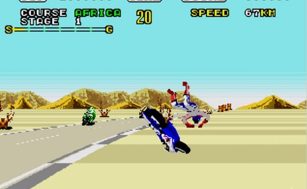 Super Hang On el mejor juego de motos de Megadrive