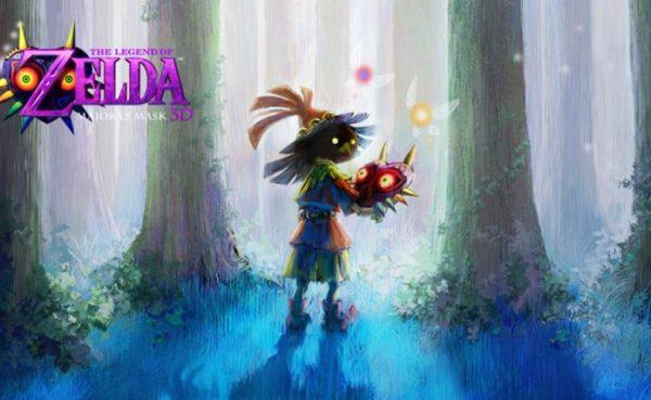 The Legend of Zelda: Majora's Mask 3D Edición Limitada a la venta en EEUU