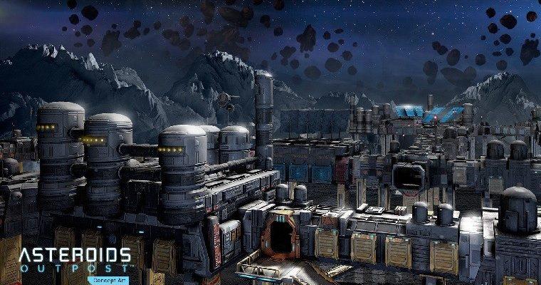 Asteroids: Outpost, lo nuevo de Atari y Salty Games