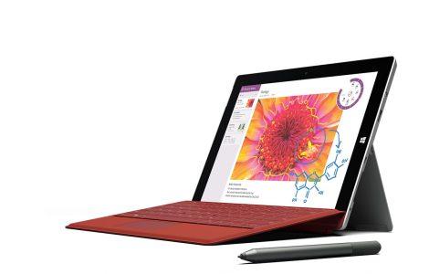 Surface 3 es la tableta más delgada fabricada por Microsoft