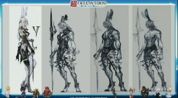 Viera Final Fantasy XIV A Real Reborn