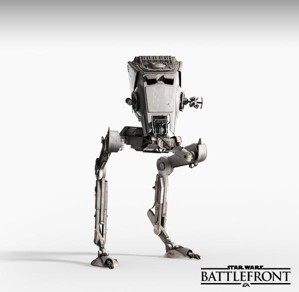 Star Wars Battlefront AT-ST