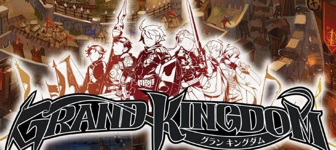 Grand Kingdom hace su debut con la apertura de su Web