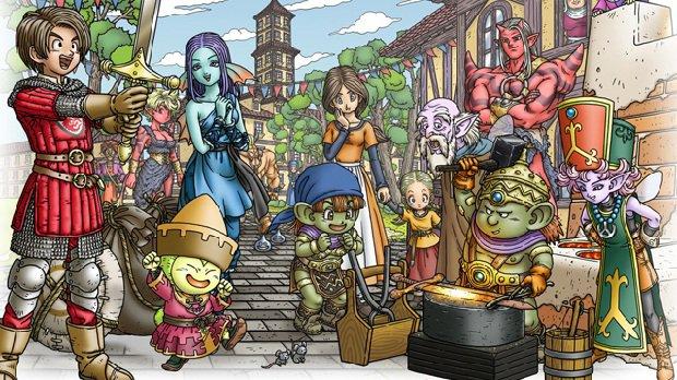 Square Enix prepara un nuevo evento para presentar Dragon Quest 11
