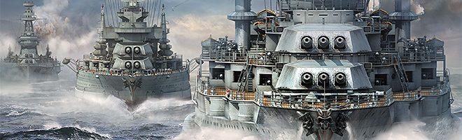 World of Warships, batalla naval a gran escala